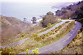 WV6654 : Road down to Bouley Bay, 1967 by Robin Webster
