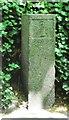 WV3278 : Old Milestone, De Beauvoir (Ancien jalon) by Tim Jenkinson